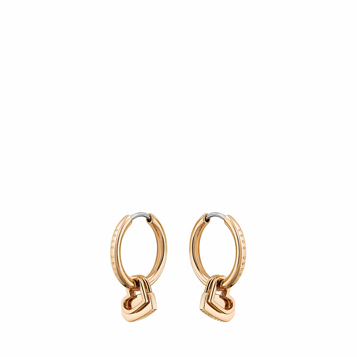 earrings, Boss, Earrings Rose Gold