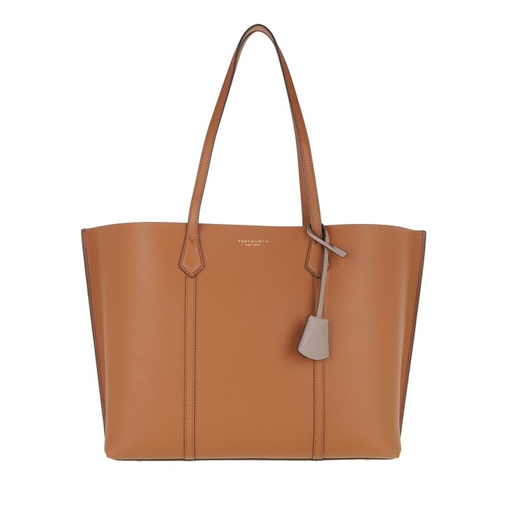 bags, Tory Burch, Perry Triple-Compartment Tote Light Umber