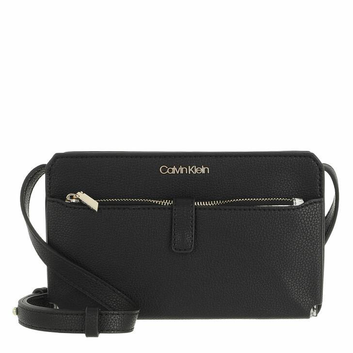 Geldbörse, Calvin Klein, Mini Bag with Cardholder Poet Black