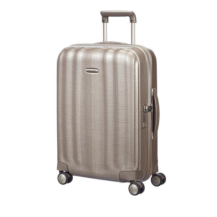 Reisetasche, Samsonite, Lite Cube Trolley Gold