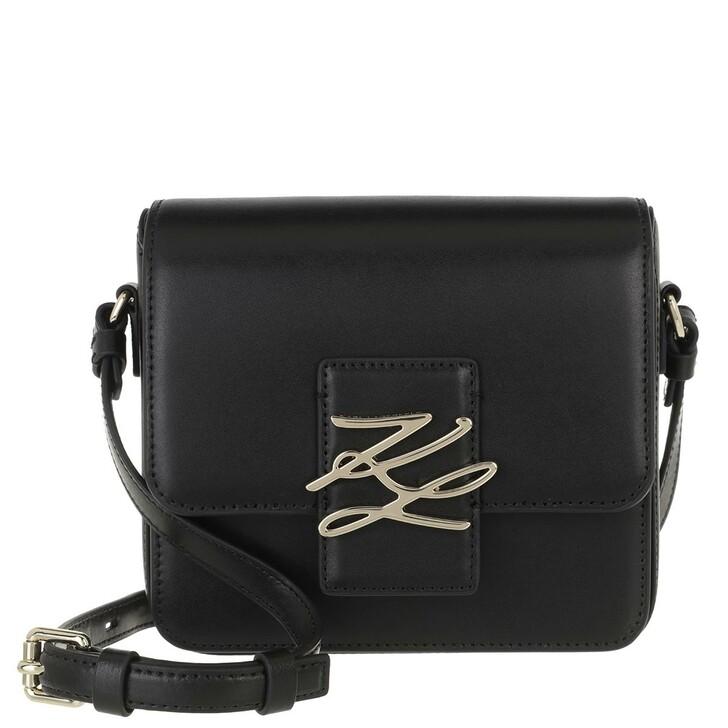 Handtasche, Karl Lagerfeld, Autograph Crossbody Gold