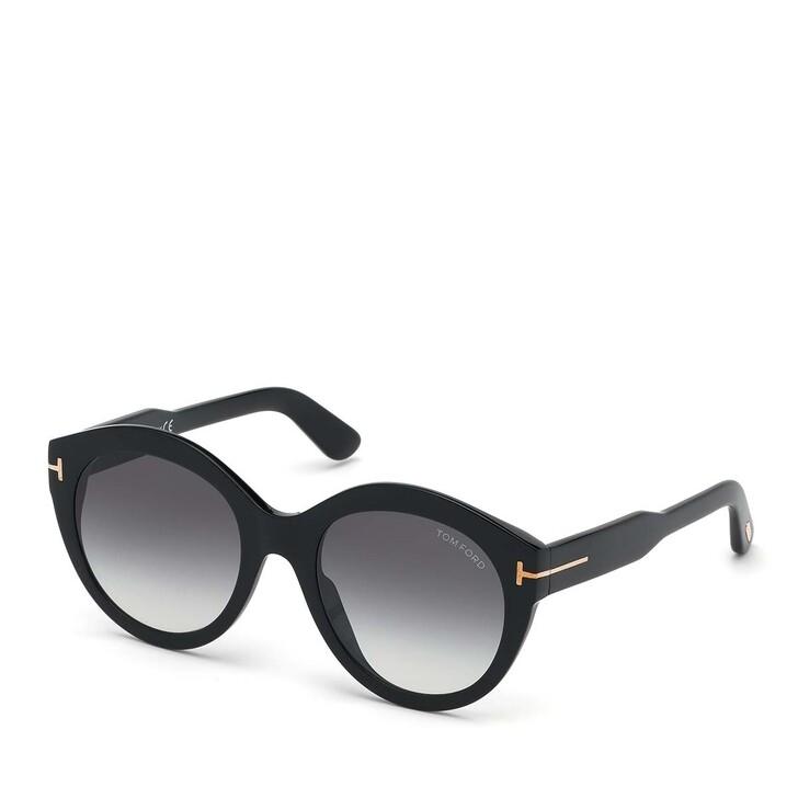 Sonnenbrille, Tom Ford, Women Sunglasses FT0661 Black/Grey