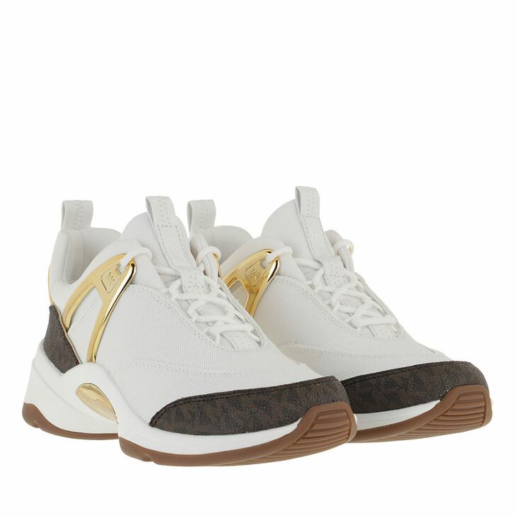 shoes, MICHAEL Michael Kors, Sparks Trainer Optic White Multi