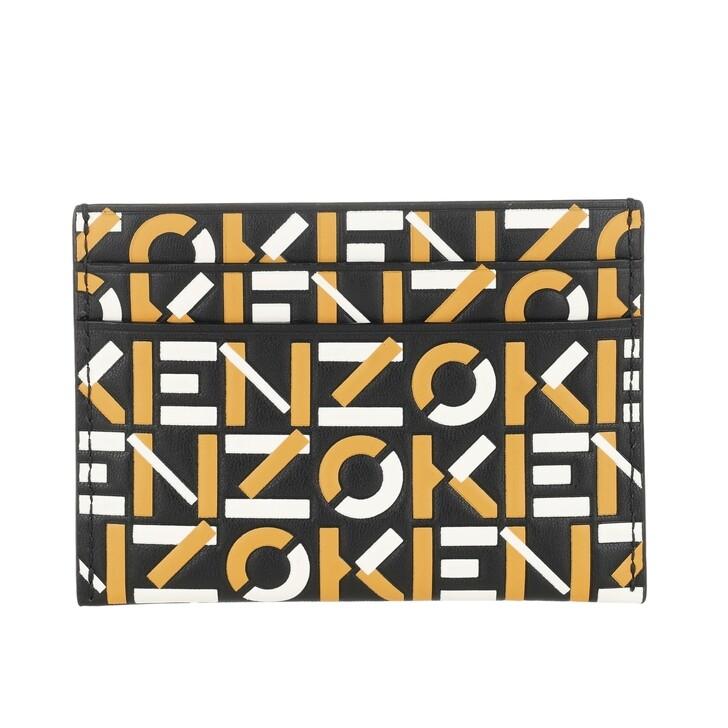 Geldbörse, Kenzo, Card case Golden Yellow