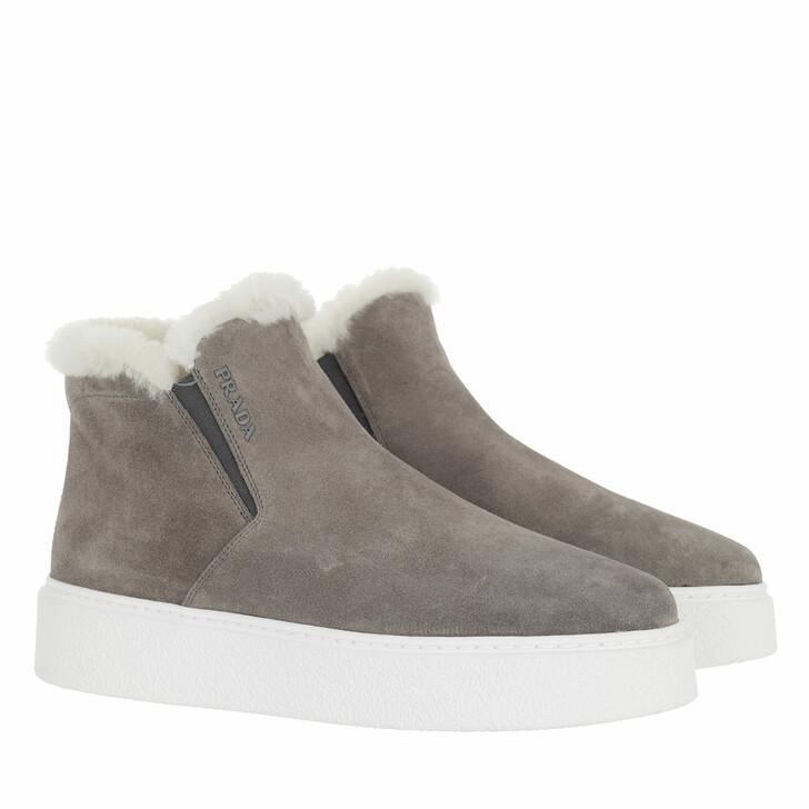 shoes, Prada, Sneakers Ghiaia Natural