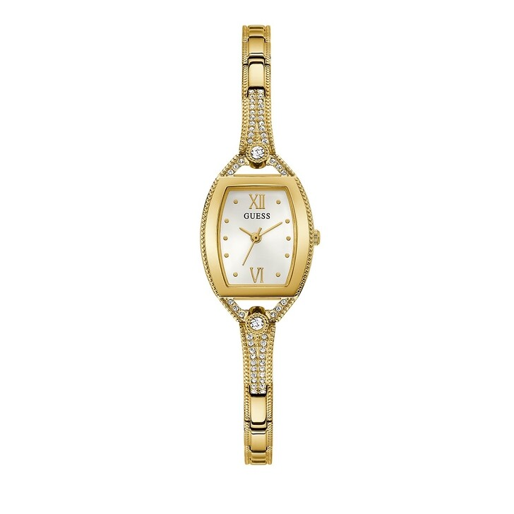 Uhr, Guess, LADIES JEWELRY WATCH Gold Tone