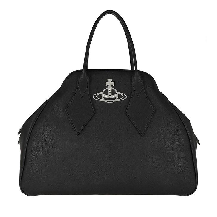 Handtasche, Vivienne Westwood, Derby Large Yasmine Black