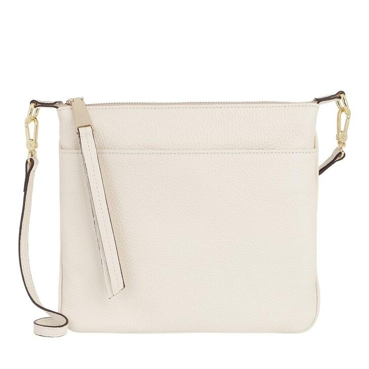 Handtasche, Abro, Cross Body Bag Onefold Ivory