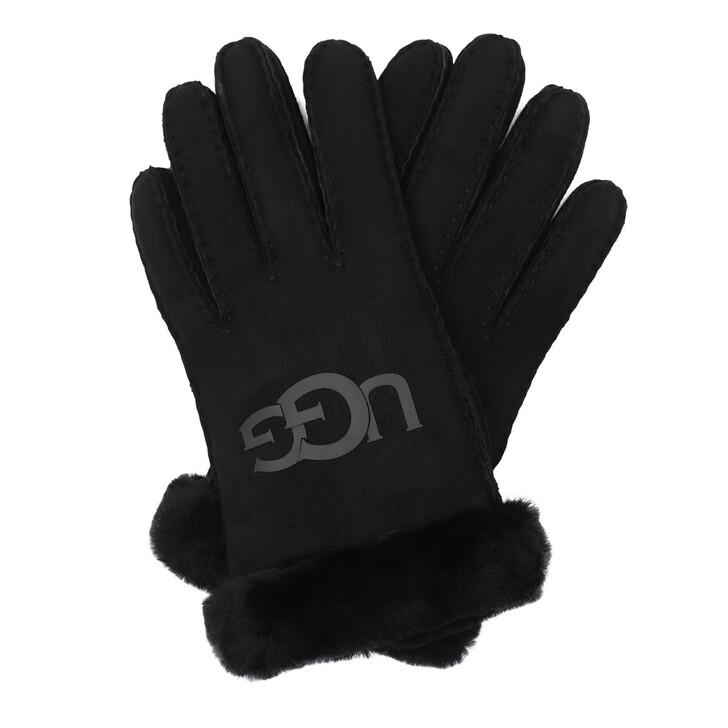 Handschuh, UGG, W Sheepskin Logo Glove Black