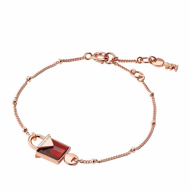 bracelets, Michael Kors, MKC1041AD791 Padlock Bracelet Roségold