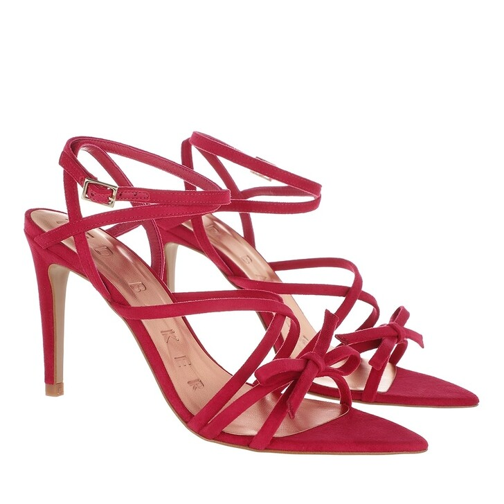 Schuh, Ted Baker, Relana Strappy Heeled Sandal Deep-Pink