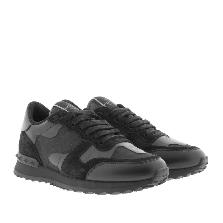 Schuh, Valentino, Sneaker Camouflage Nero