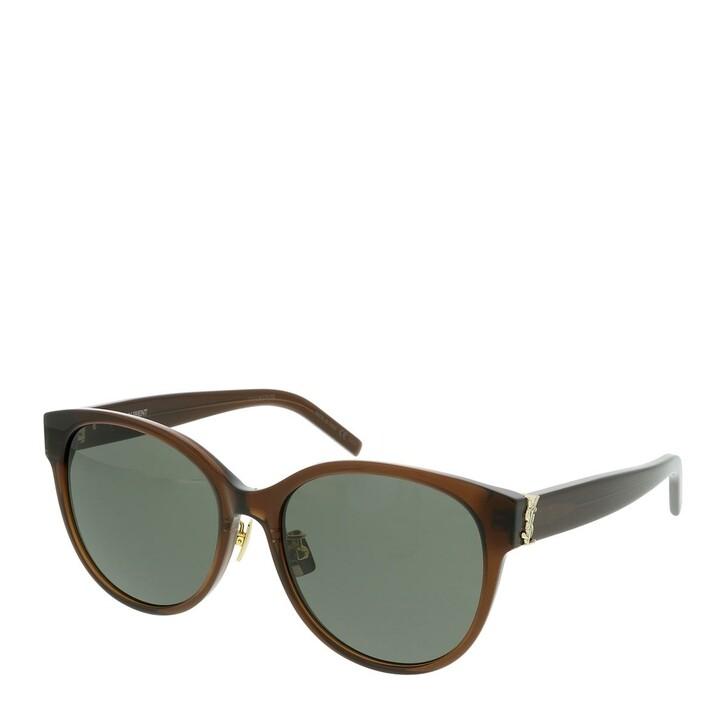 sunglasses, Saint Laurent, SL M39/K-007 57 Sunglass WOMAN ACETATE BROWN