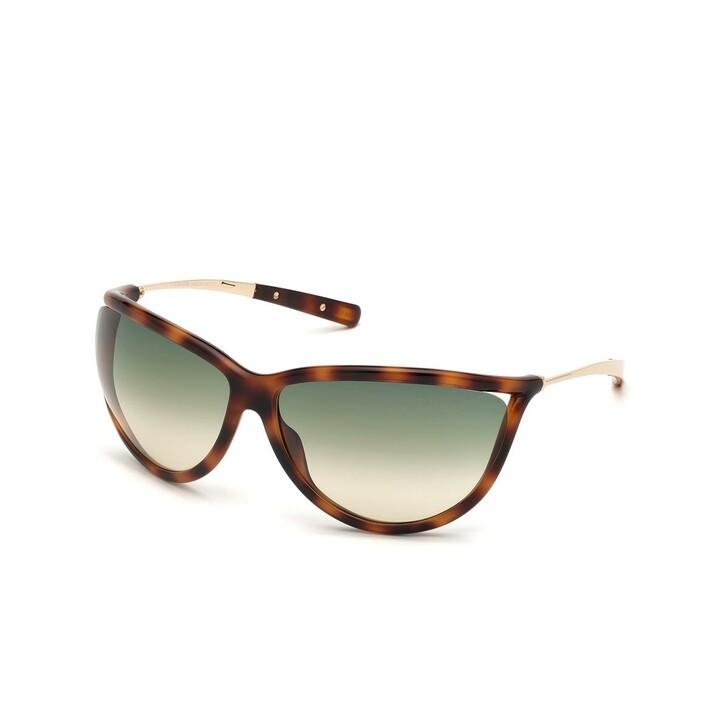 Sonnenbrille, Tom Ford, Women Sunglasses FT0770 Havanna/Blue