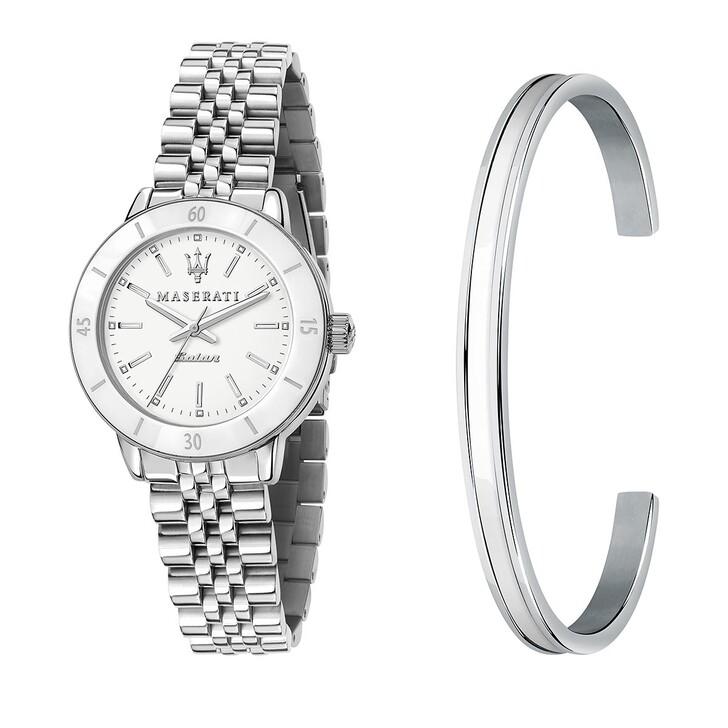 watches, Maserati, Successo Solar 32mm silver
