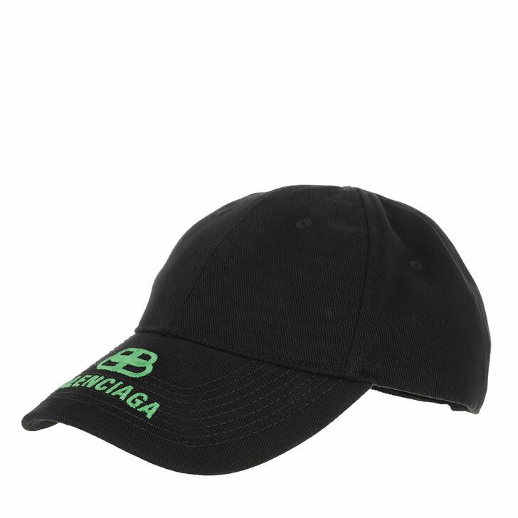 Mütze, Balenciaga, Logo Cap Black/Green