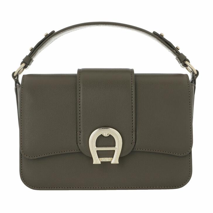 Handtasche, AIGNER, Verona Bag Country Green