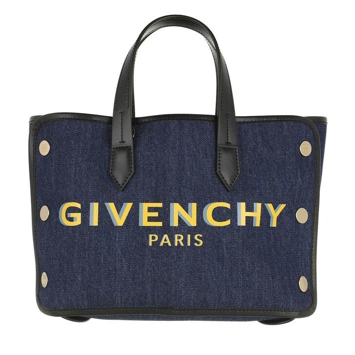 Handtasche, Givenchy, Mini Bond Shopper Blue