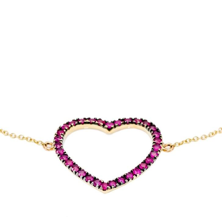 Armreif, Evél Juwel, HEART Bracelet Gelbgold