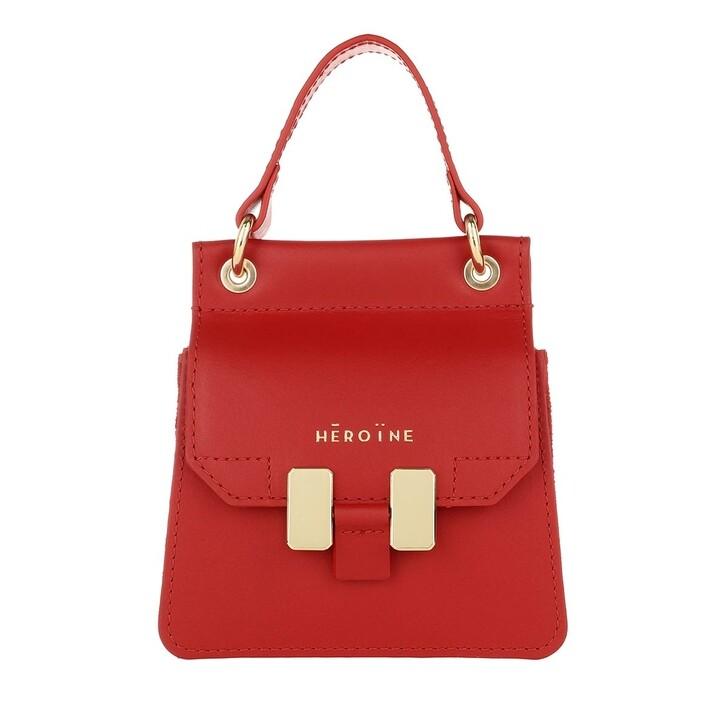 bags, Maison Hēroïne, Marlene Handle Bag Poppy Red