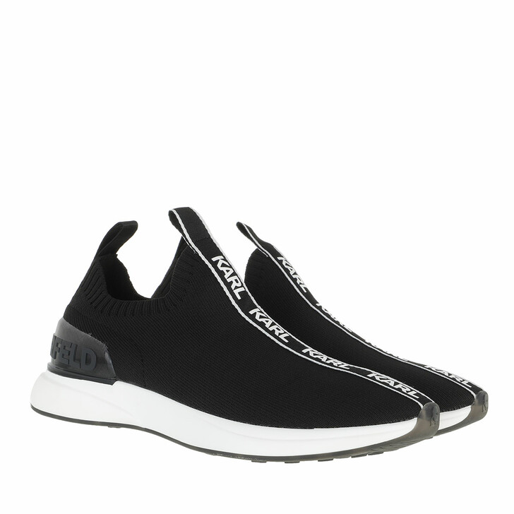 Schuh, Karl Lagerfeld, FINESSE Legere Lo Knit Black Knit Texile