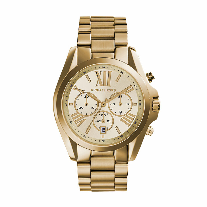 Uhr, Michael Kors, MK5605 Bradshaw Watch Gold-Tone