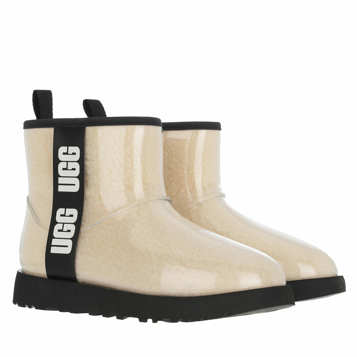 shoes, UGG, Classic Clear Mini Boot Natural