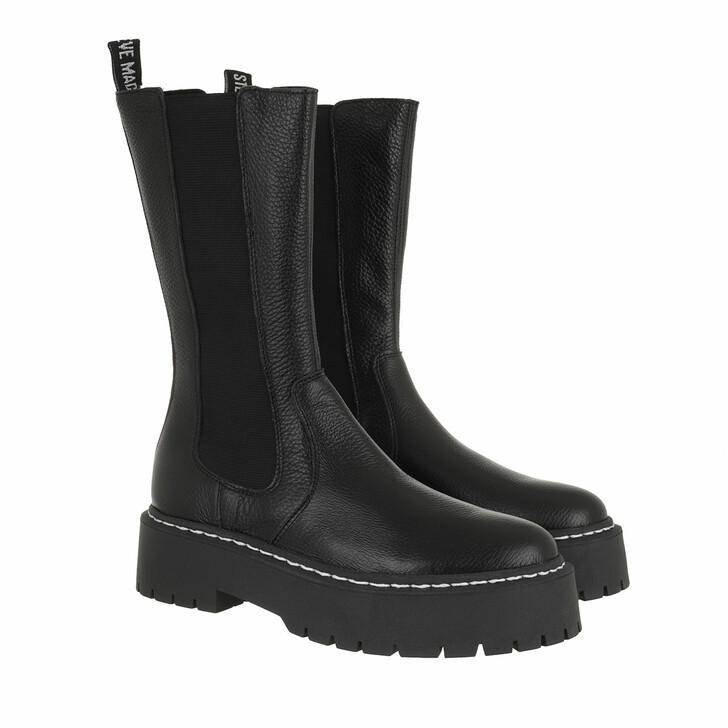 shoes, Steve Madden, Vivianne Boot Black Leather