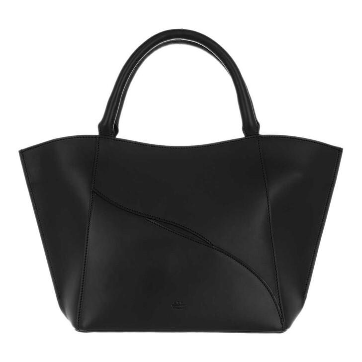 Handtasche, ATP Atelier, Galatina Vacchetta Tote Black