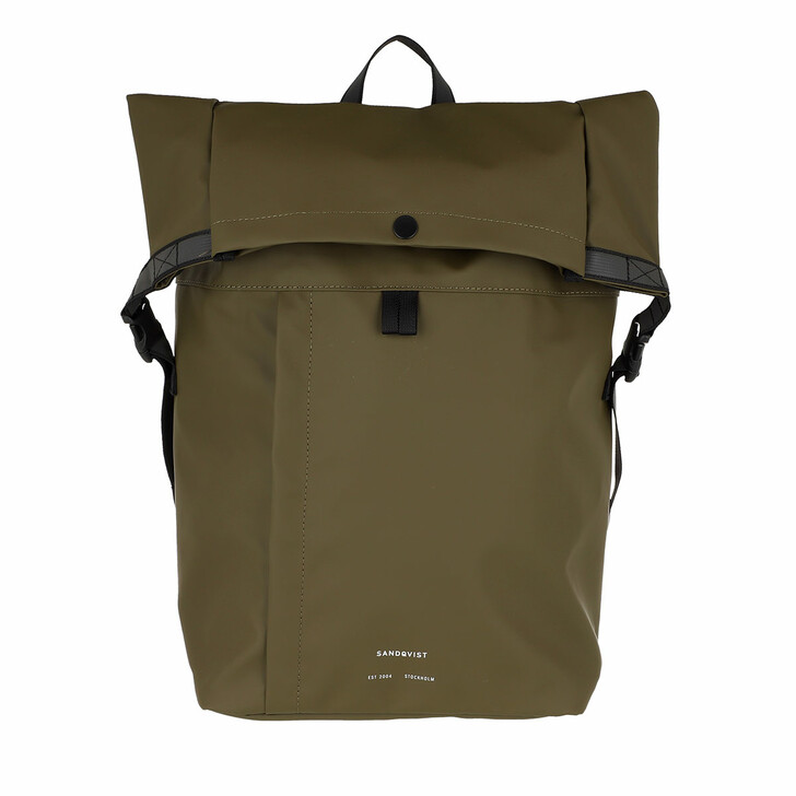 Reisetasche, Sandqvist, Konrad Backpacks Olive