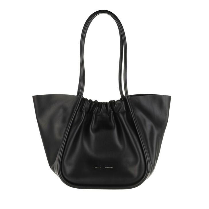 Handtasche, Proenza Schouler, Large Ruched Tote Black