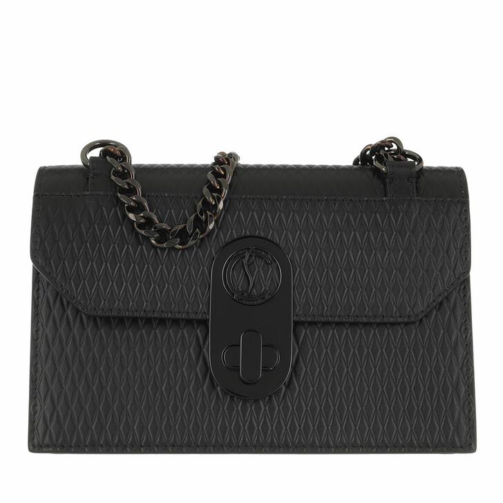 Handtasche, Christian Louboutin, Elisa Mini Crossbody Bag Black