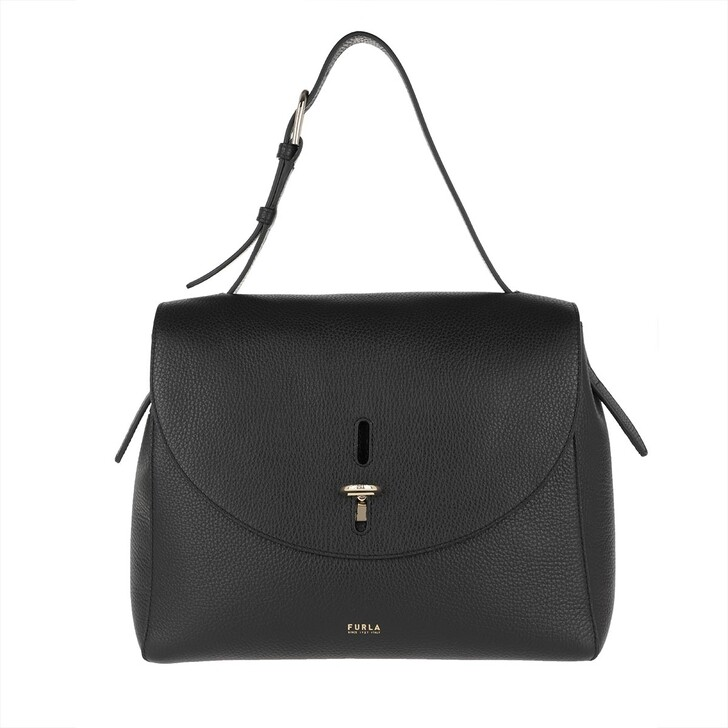 Handtasche, Furla, Net M Top Handle Nero