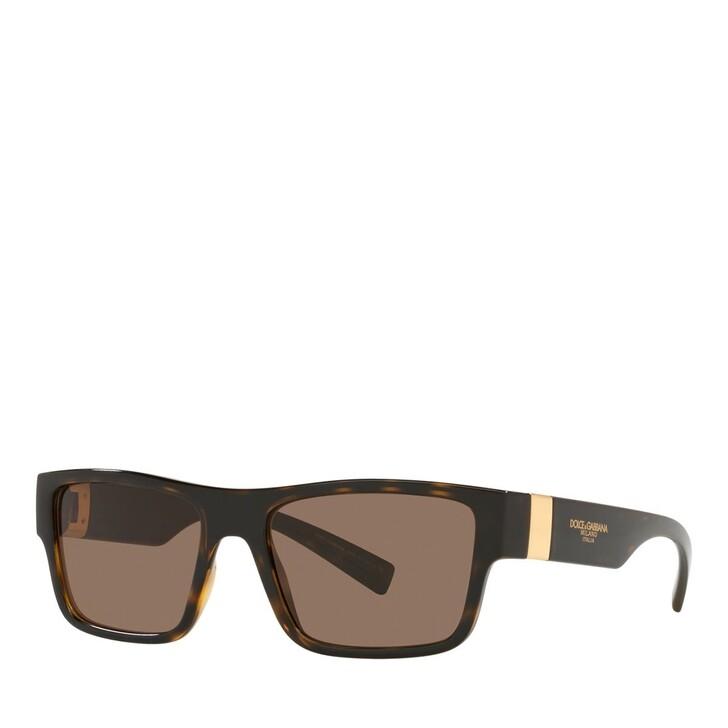 Sonnenbrille, Dolce&Gabbana, 0DG6149 Havana/Black