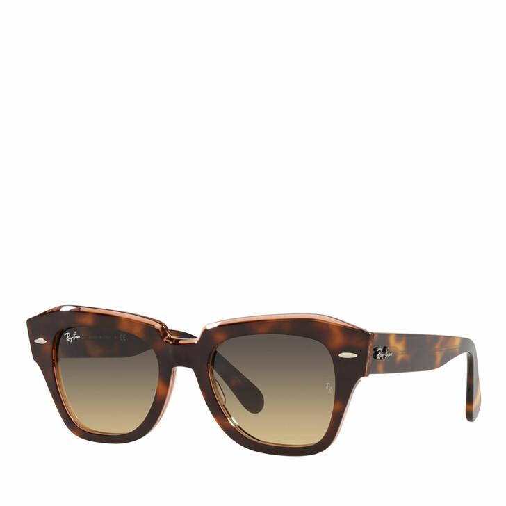 sunglasses, Ray-Ban, 0RB2186 HAVANA ON TRANSPARENT PINK