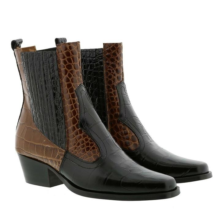 Schuh, Toral, Bootie Black/Polisander