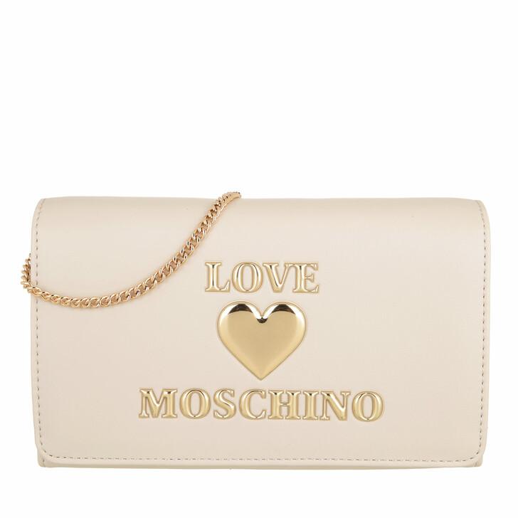 bags, Love Moschino, Borsa Pu  Avorio