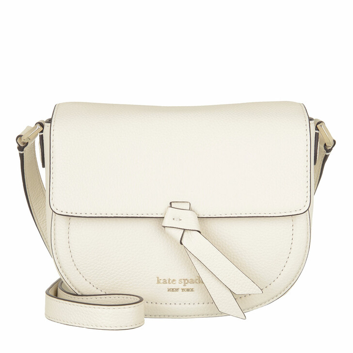 Handtasche, Kate Spade New York, Medium Saddle Bag  Parchment