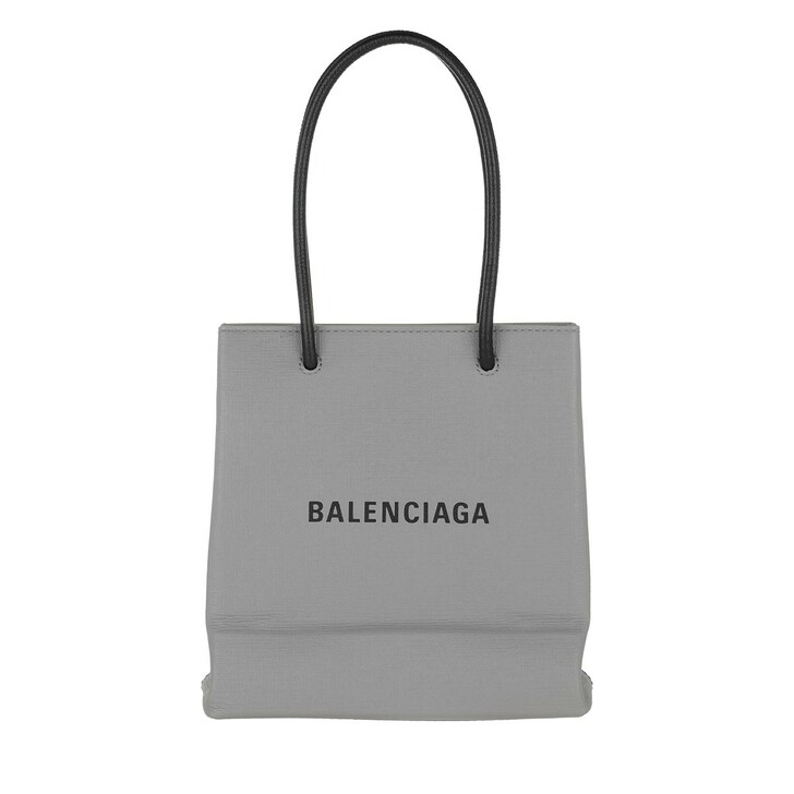 Handtasche, Balenciaga, XS Shopping Bag Grey
