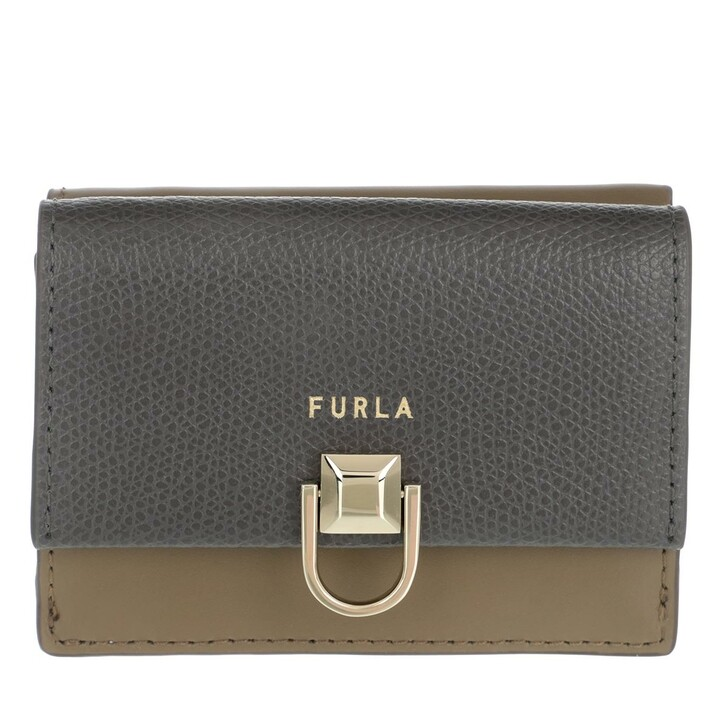 Geldbörse, Furla, Furla Miss Mimi' S Compact Wallet Asfalto G+Fango