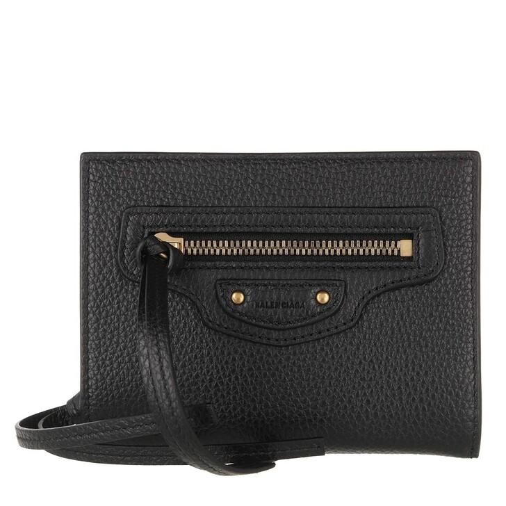 Geldbörse, Balenciaga, Neo Classic Wallet Black