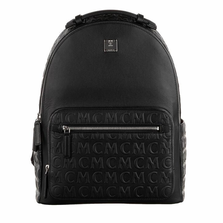 Reisetasche, MCM, Stark Mcm Mini Light Backpack Black