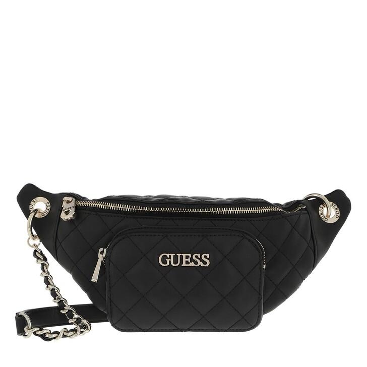 bags, Guess, Illy Crossbody Belt Bag Black