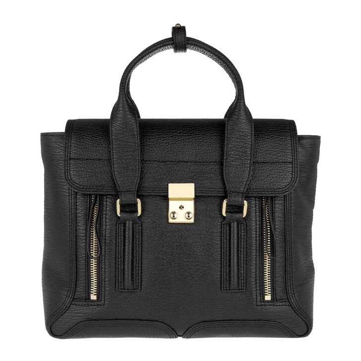 Handtasche, 3.1 Phillip Lim, Pashli Medium Satchel Black