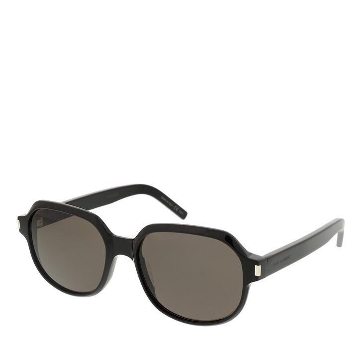 sunglasses, Saint Laurent, SL 496-001 57 Sunglass Woman Acetate Black-Black-Black
