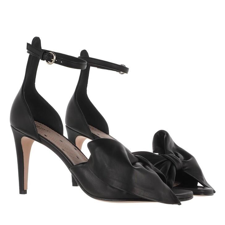 Schuh, Red Valentino, Sandal Black