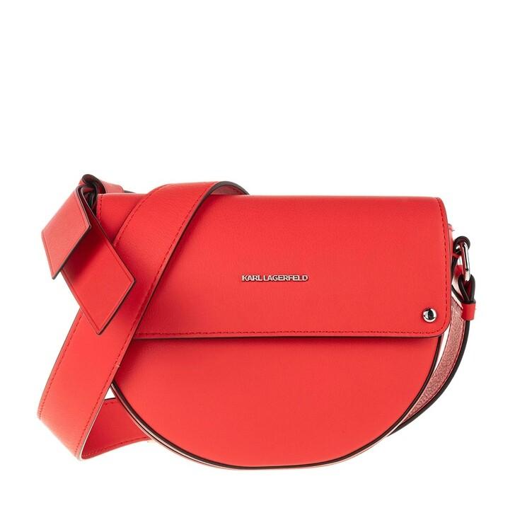 Handtasche, Karl Lagerfeld, Ikon Crossbody Tangerine