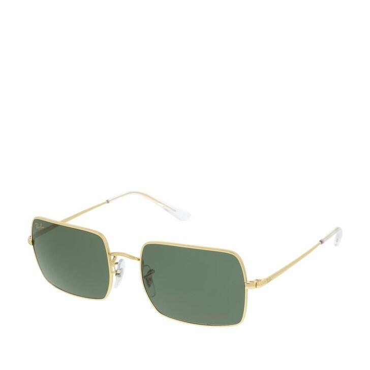 sunglasses, Ray-Ban, Unisex Sunglasses Icons Shape Family 0RB1969 Legend Gold