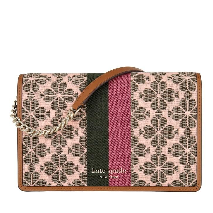 Geldbörse, Kate Spade New York, Wallet On Chain Pink Multi