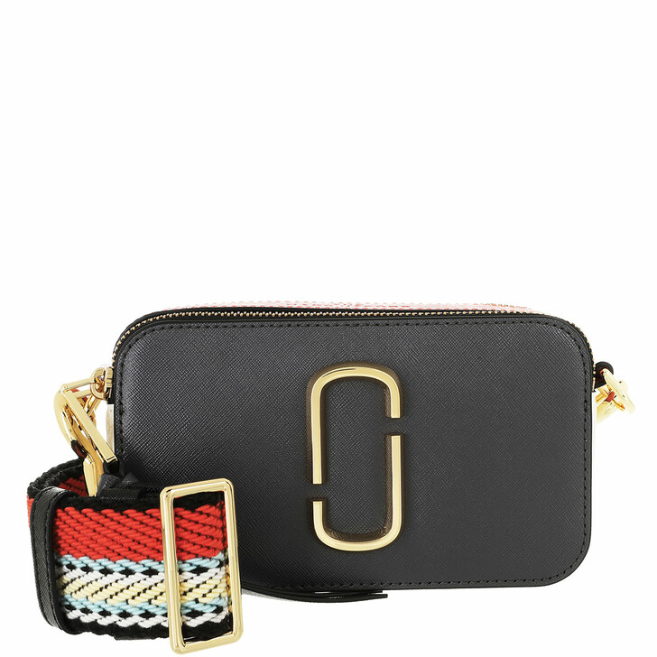 bags, Marc Jacobs, The Snapshot Small Camera Bag Cylinder Grey Multicolor